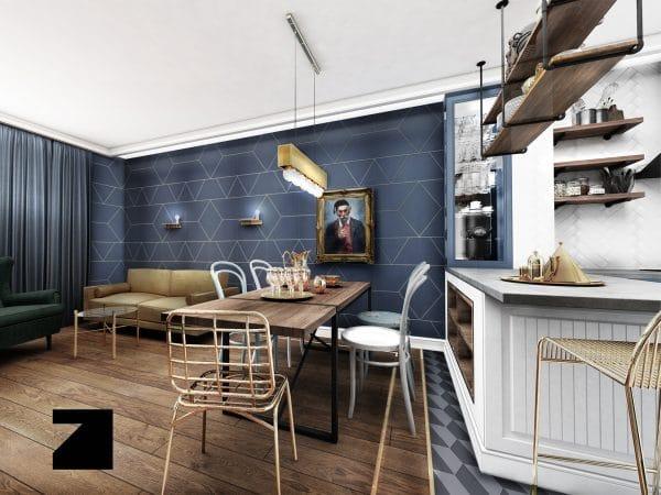 luksusowe wnętrze w Apartamencie Altoria - Lesinska