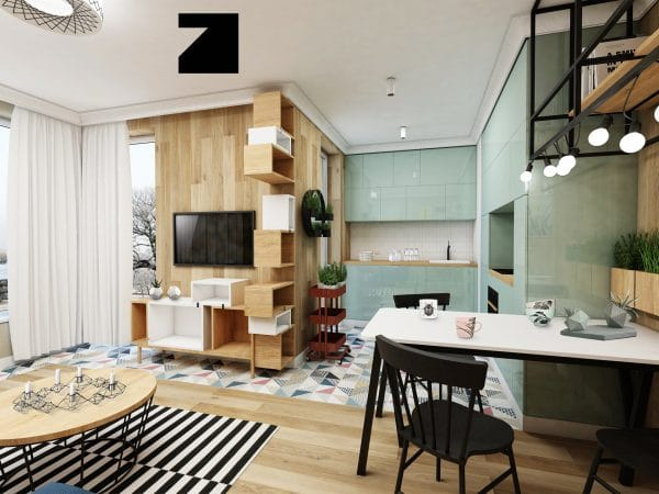 luksusowe wnętrze - projekt