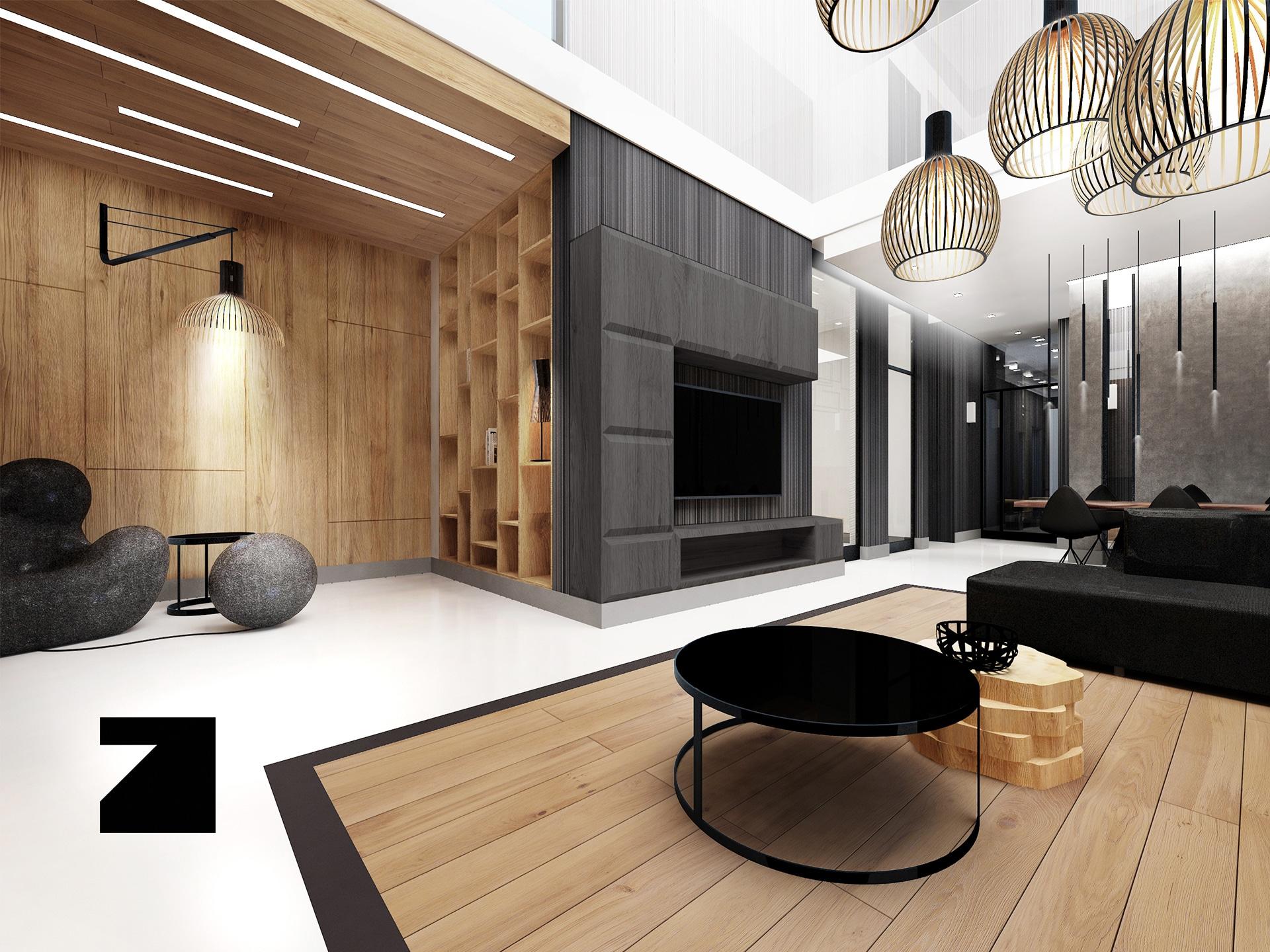 luksusowy projekt wnętrza Lesinska