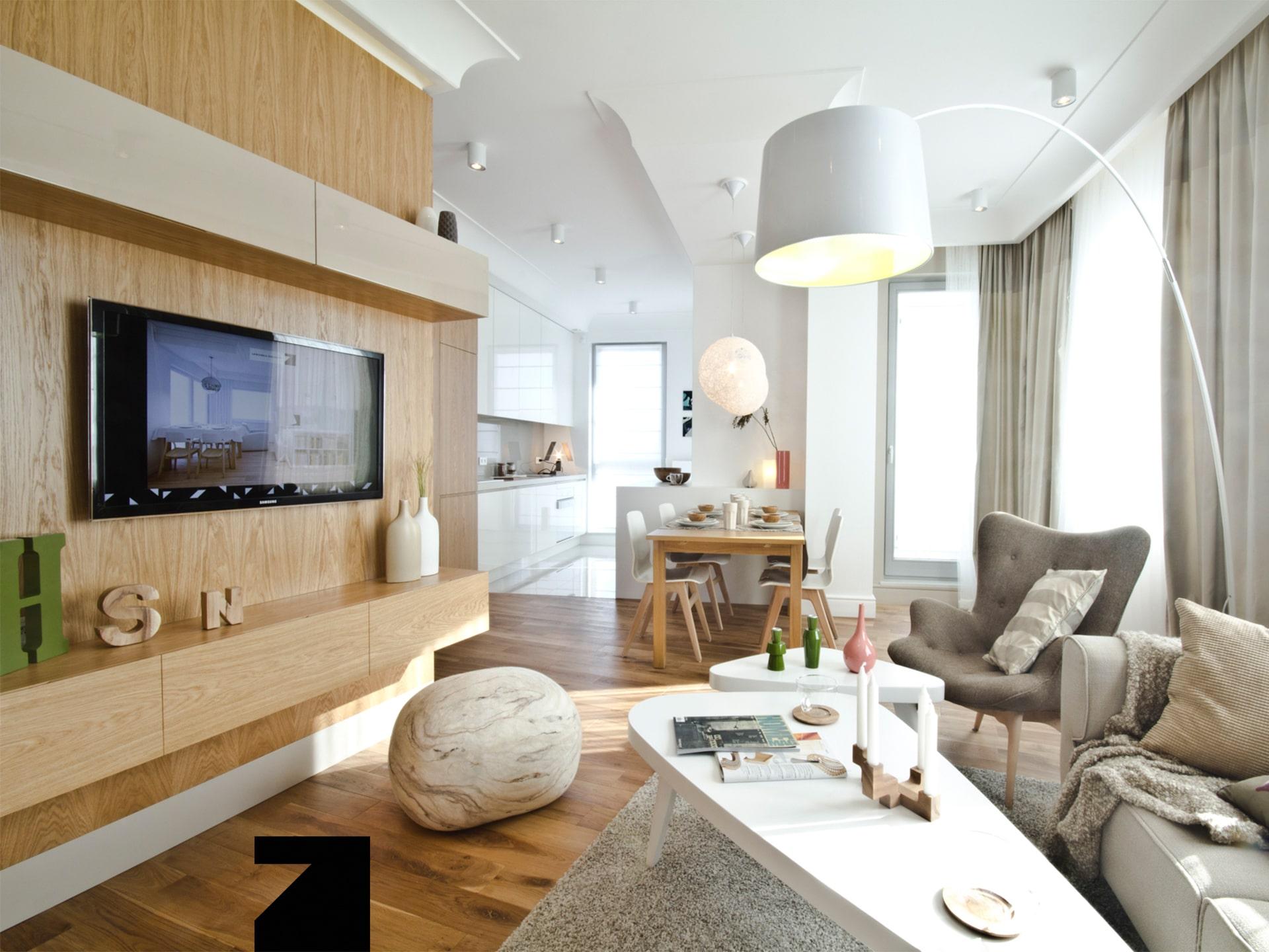 projekt ekskluzywnego wnętrza apartamentu
