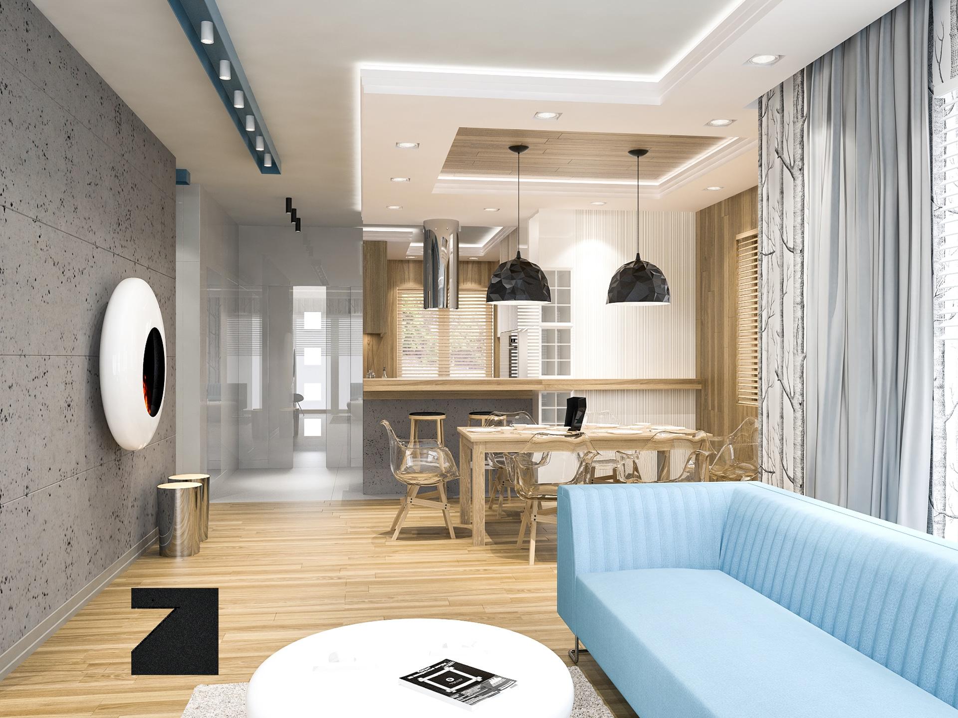 Lesinska - projekt luksusowego wnętrza