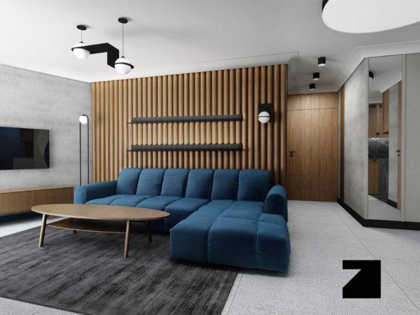 ekskluzywne wnętrze w Awanport Apartment Gdynia