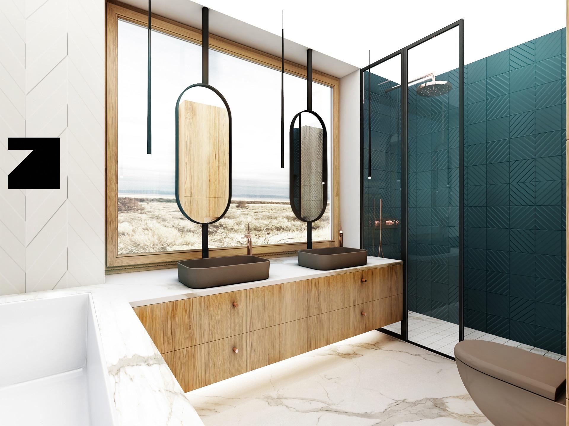 projekt luksusowej łazienki