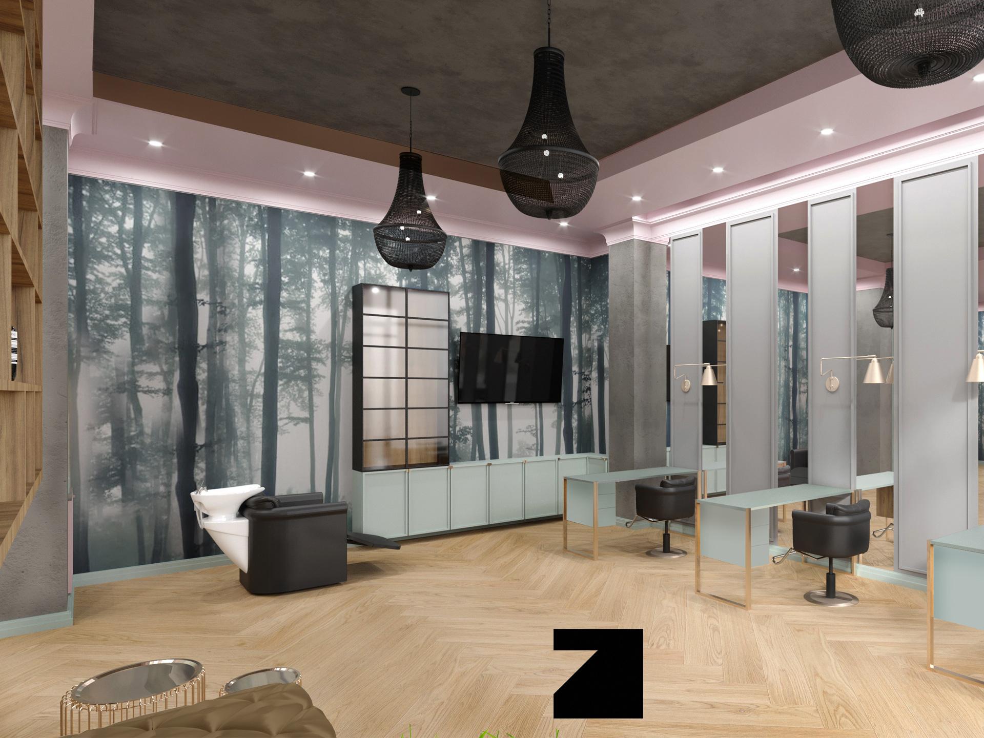 ekskluzywne projekty wnętrz - Lesinska